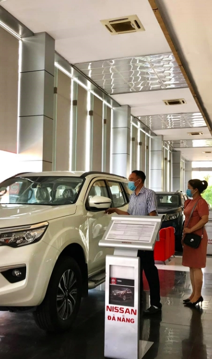 Showroom Nissan Đà Nẵng